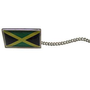 Jamaica Flag Tie Tack